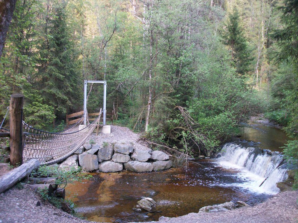 Eine Brücke über die Durach