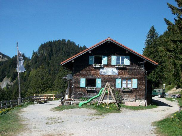 Die Kappeler Alp: Berghütte