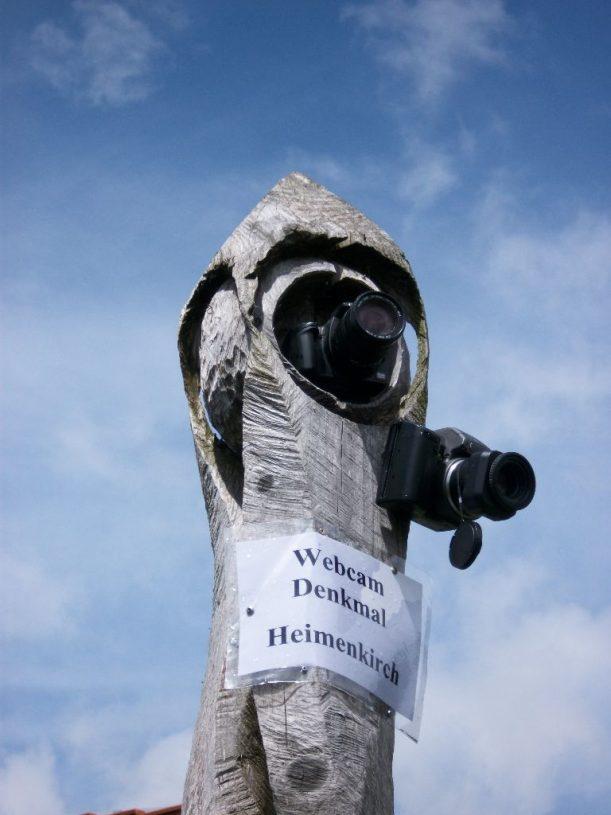 Webcam Denkmal Heimenkirch im Allgäu