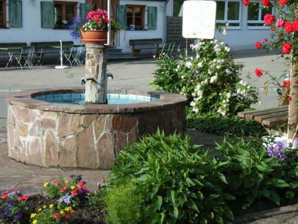 Dorfbrunnen Oberthalhofen