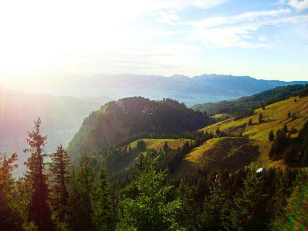 Aussicht auf den Hirschberg