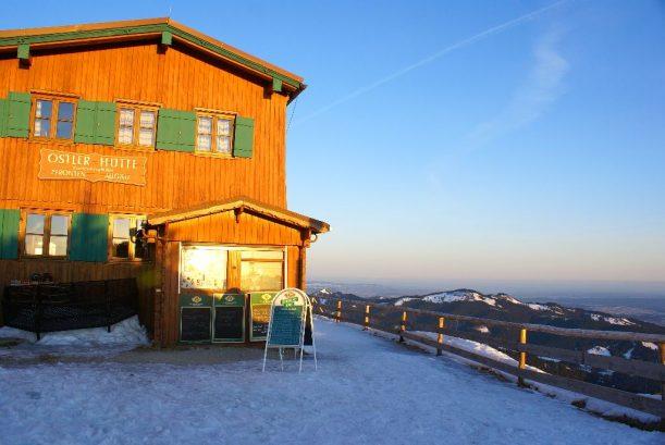 Ostler Hütte auf dem Breitenberg in Pfronten im Allgäu