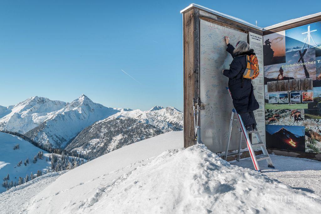 Größtes Gipfelbuch der Alpen
