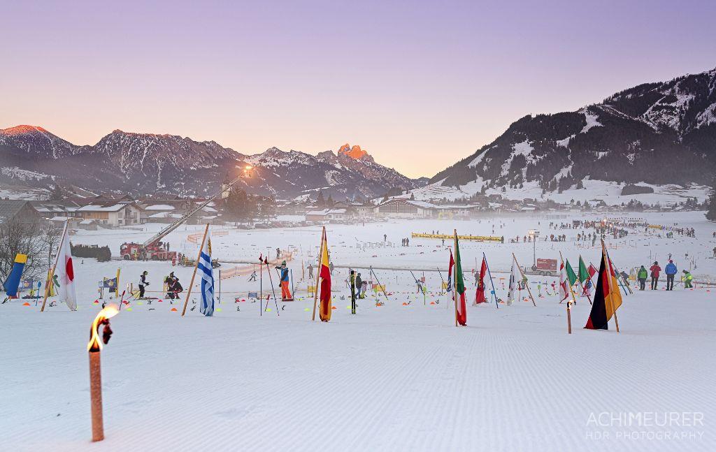 Langlauf-Veranstaltung im Tannheimer Tal