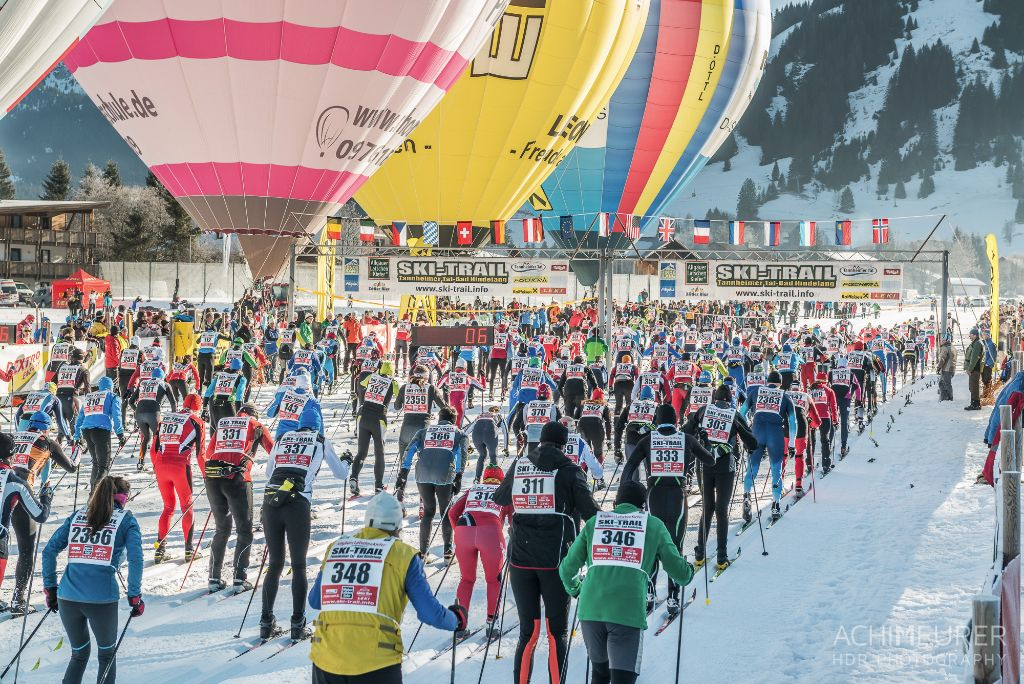 Start Langlauf-Veranstaltung Tannheimer Tal