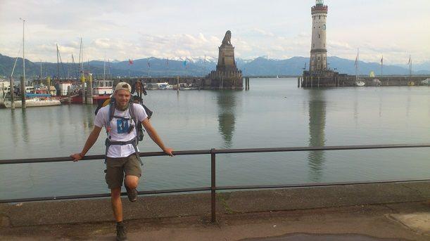 Etappenziel erreicht Lindau am Bodensee