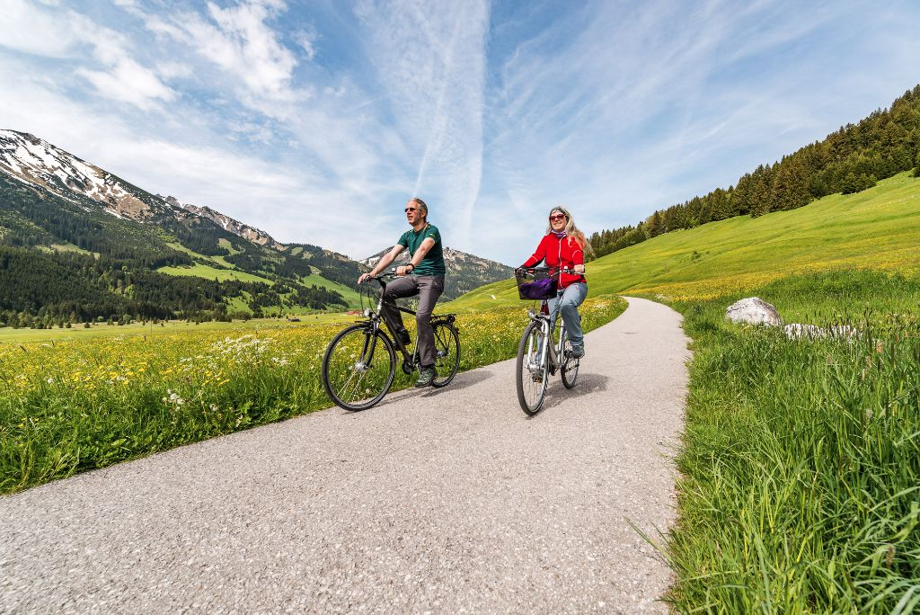 Radfahren im Tannheimer Tal, Tirol