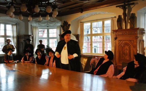 Ratsbeschluss zur Reformation