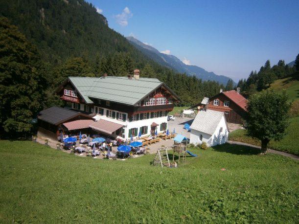 Südlichster und höchst gelegener, ganzjährig bewohnter Weiler in Deutschland