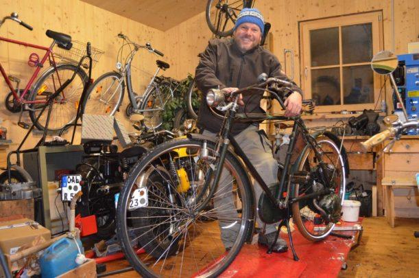 """Erich und sein """"neues"""" Fahrrad"""