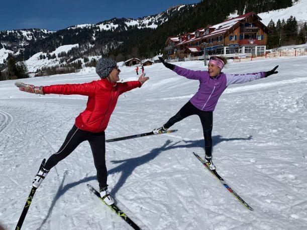 Skating Kurs mit Evi Sachenbacher-Stehle