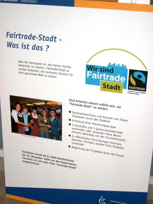 Fairtrade in Sonthofen