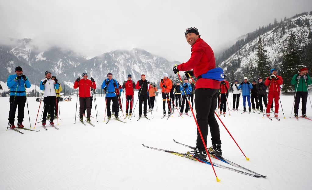 Langlauf mit einem Idol: Peter Schlickenrieder beim Ski-Trail Tannheimer Tal - Bad Hindelang