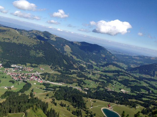 Klettersteig Oberjoch : Feierabend im allgäu über den salewa klettersteig c auf