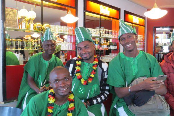 Gäste aus Nigeria - Kultur aus Afrika (Foto: Monika Schubert)