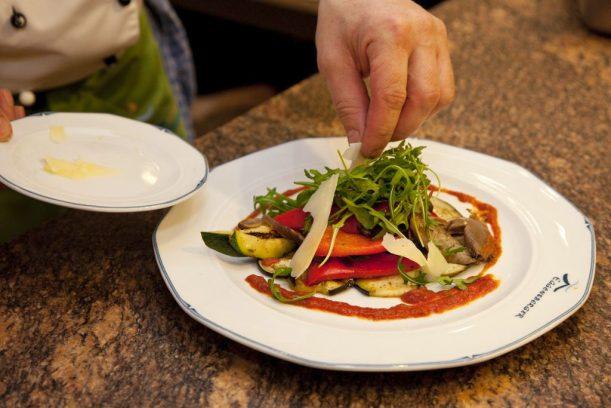 Gesunde und leckere Logi Gerichte im Wellnesshotel Eggensberger in Deutschland