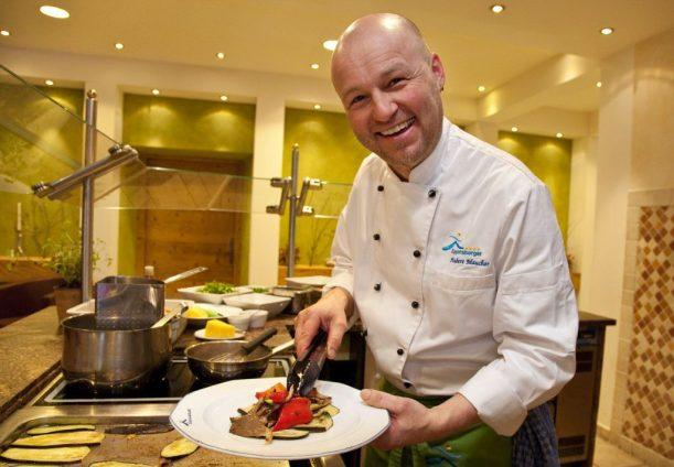 Hubert Maucher kreiert im Wellnesshotel Eggensberger leichte, gesunde Gerichte nach dem Logi Prinzip