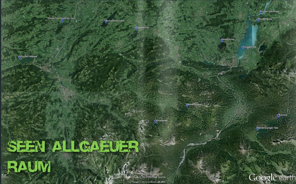 google Earth Kajak