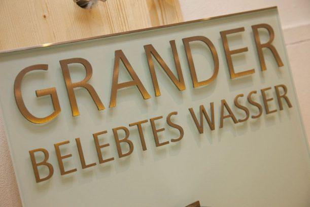 Grander Wasser im Wellnesshotel Eggensberger in Bayern