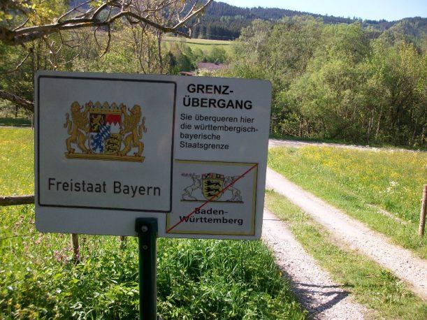 Unterwegs auf der Wasserläufer-Route von Bolsternang nach Isny im Allgäu