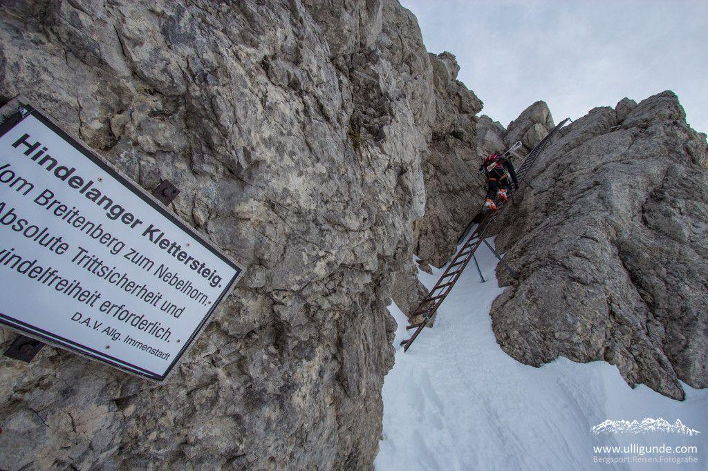 Klettersteig Bad Hindelang : Das abenteuer vor der haustüre hindelanger klettersteig im winter