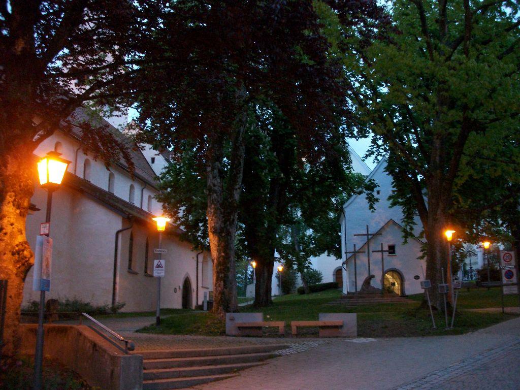 orische Platz in Isny im Allgäu