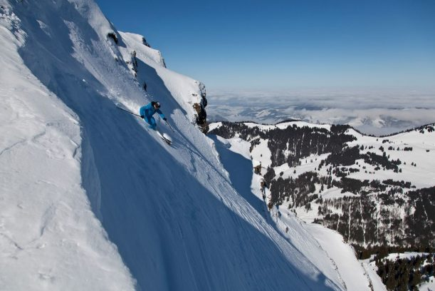 Skitour: Überquerung der Nagelfluhkette