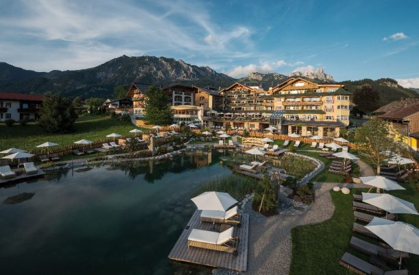Wellness-Hotel Engel in Grän, Tirol