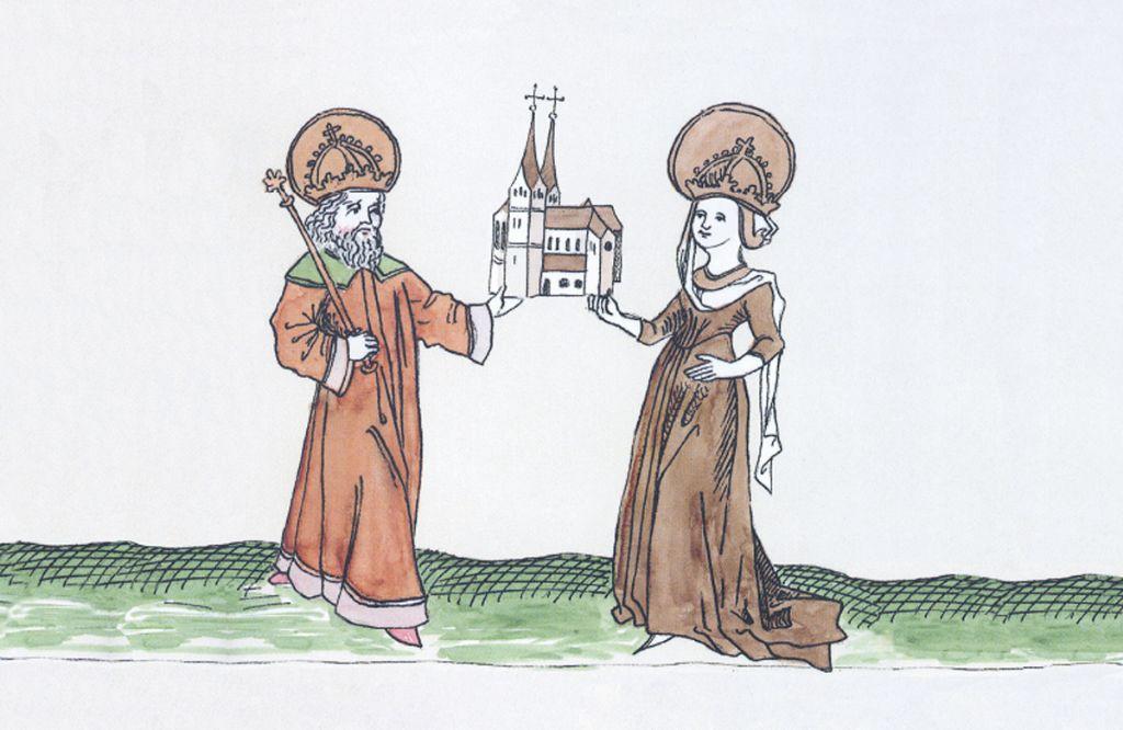 Karl der Große und seine Hildegard