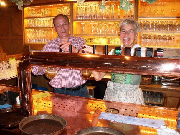 Im Brauereigasthof Schäffler in Missen im Allgäu
