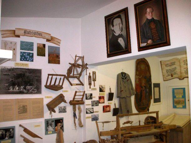 Im Carl Hirnbein- Museum im Allgäu