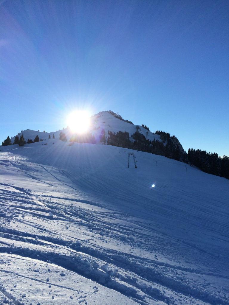 Blick auf den Grünten in den Allgäuer Alpen