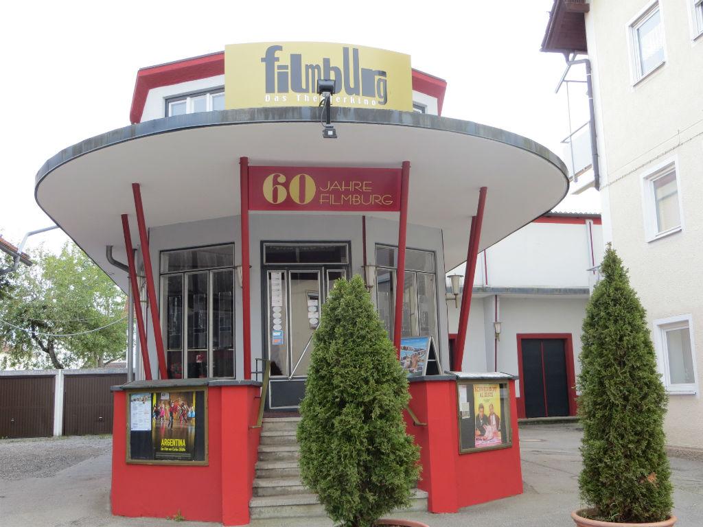 """Unter Denkmalschutz, aber """"angesagt"""": die """"filmburg"""", eine Kulturinstitution in Marktoberdorf (Foto: Christoph Thoma)"""
