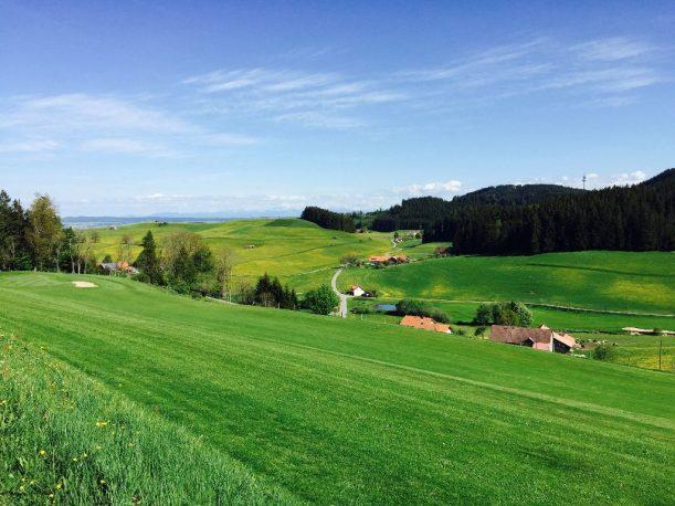 Radtour in den bayrischen Voralpen. Von Wiggensbach im Allgäu nach Gschnaid.
