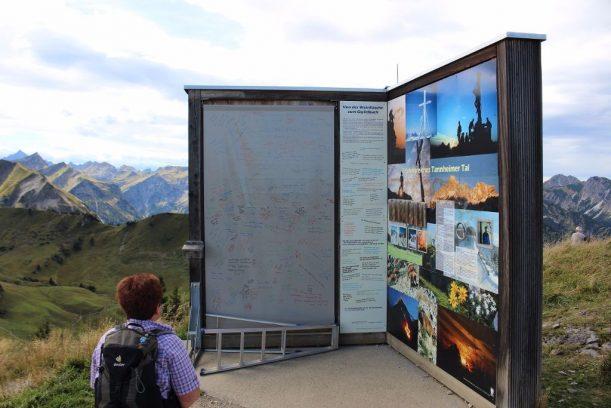 Größte Gipfelbuch der Alpen