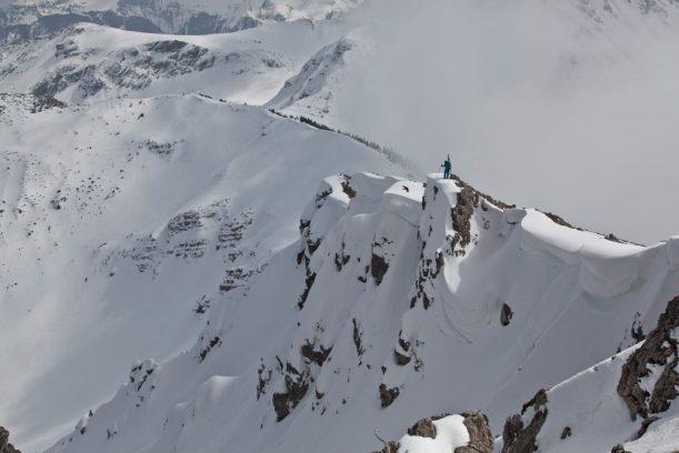 Abfahrt / Abstieg ins Pontental in den Allgäuer Alpen