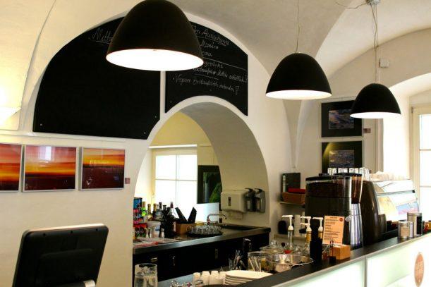 """Das Café """"Kaffeebohne"""""""