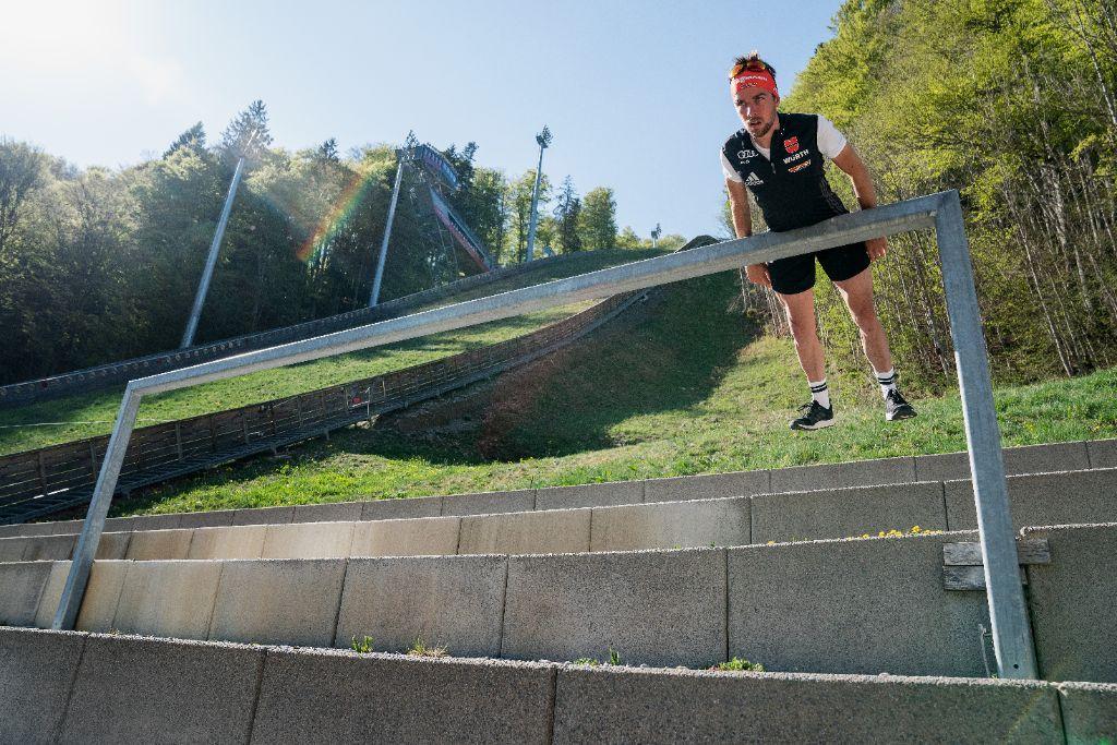 Johannes Rydzek im Training