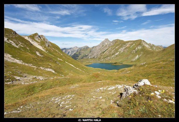 Abstiegsmöglichkeit : Schrecksee in den Allgäuer Alpen