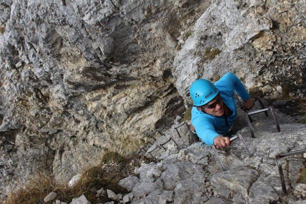 Bergsteigen mal anders