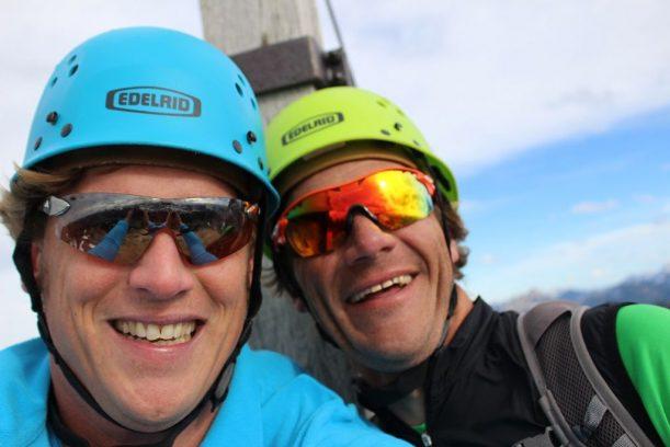 Selfie in den Allgäuer Alpen