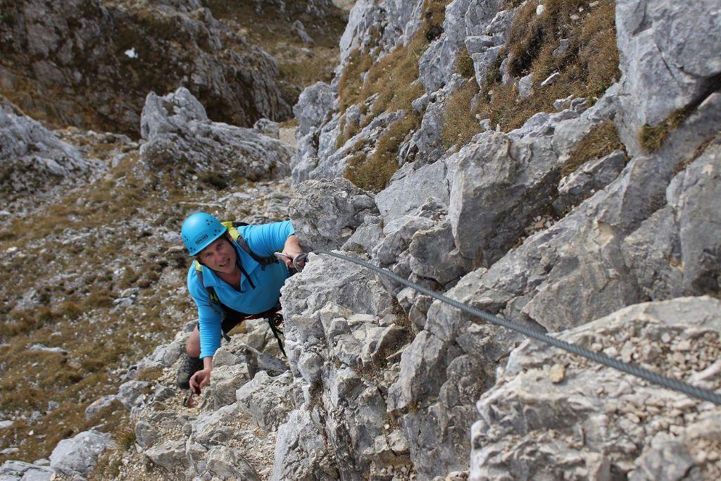 Klettersteig in den Allgäuer Alpen