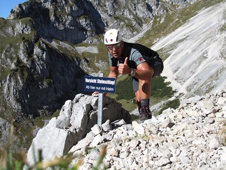 Klettersteig Köllenspitze : Der berg mich in die knie zwang köllenspitze allgäuer