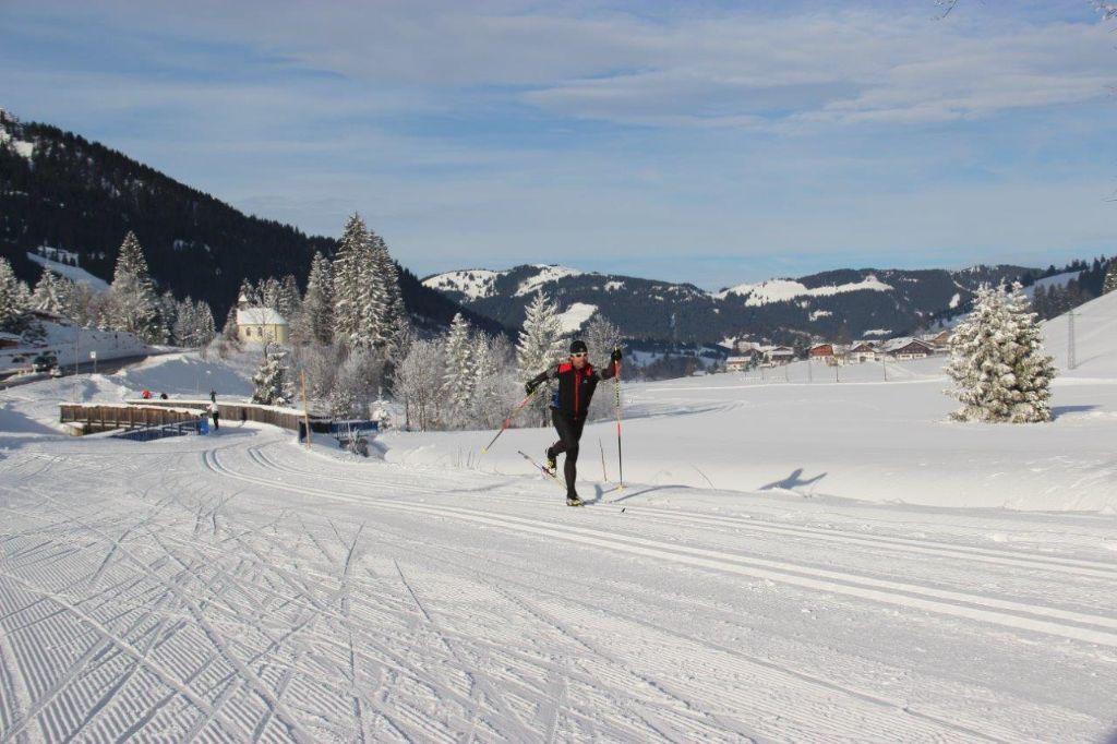 Langlauf mit Peter Schlickenrieder