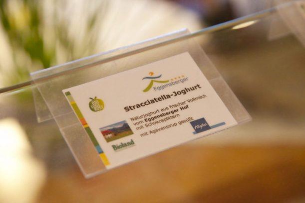 Logi Methode mit Ampelsystem am Buffet im Wellnesshotel Eggensberger