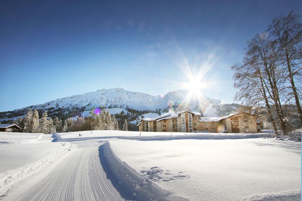 Die Skating und klassischen Langlaufloipen führen von Oberjoch bis ins Tannheimer Tal.