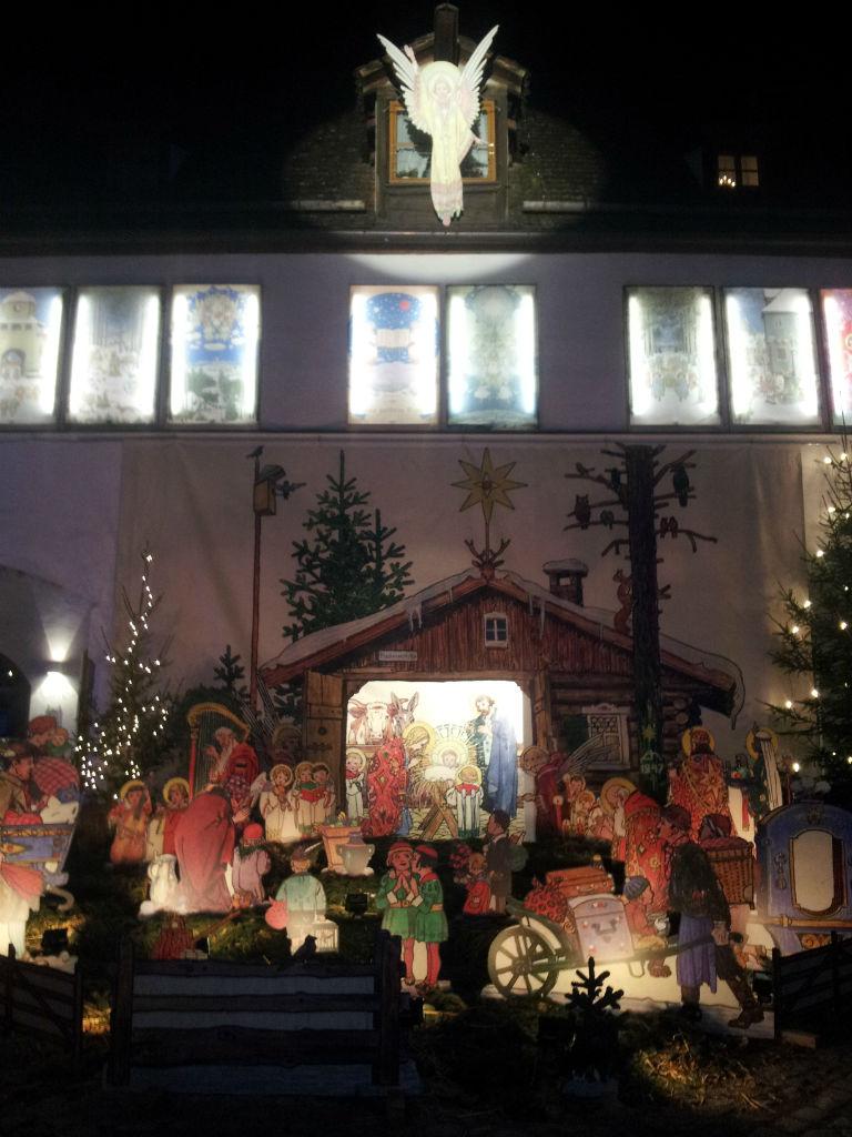 Josef Madlener Krippe, Maler der Schwäbischen Weihnacht
