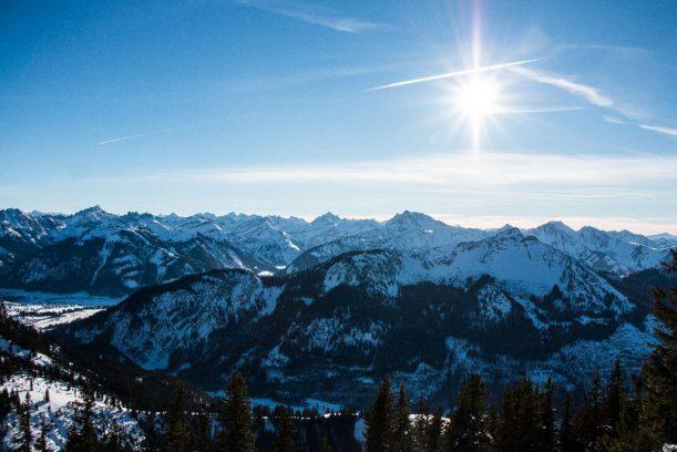 Blick richtung Tirol