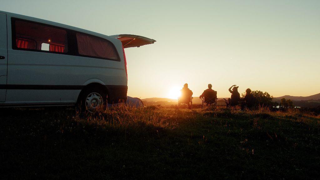 Campen bei Landwirten