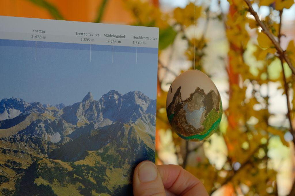 Allgäuer Berge als Motiv